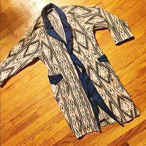 Vintage Linen Duster Coat